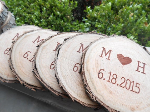 Personalized Coasters. CHOOSE YOUR WORDS & Font. Groomsmen Gift, Groom, Dad, Rustic Favor, His Hers, Birthday