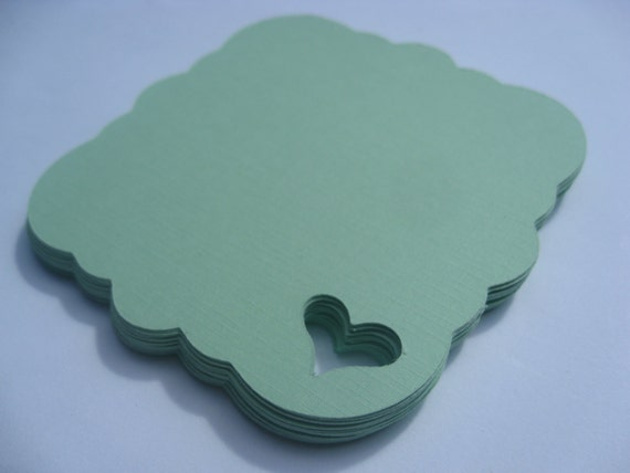 200 Heart Tags. 3 inch. CHOOSE YOUR COLORS. Weddings, Favor, Place Cards, Escort, Table. Custom Orders Welcome.