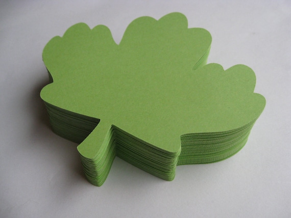 50 Funky Maple Leaves, 5.5 inch.  CHOOSE YOUR COLORS. Wedding, Favor, Escort Card, Seating Card, Gifts, Etc.