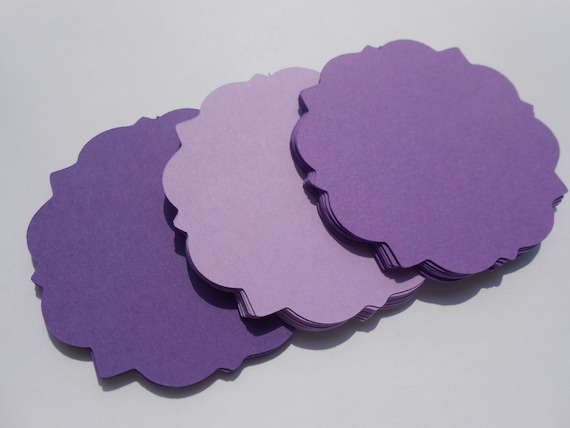 50 Square Tags. Chose your Colors, Size, & Shape.  Weddings, Favor, Wishing Tree, Escort, Gift, Table