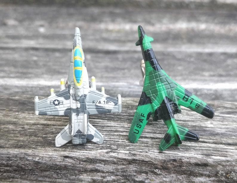 Military Jet Cufflinks Gifts For Groomsmen Christmas Gifts Gifts For Dad Airplane Cufflinks