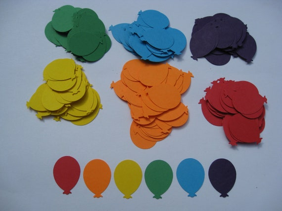 1000 Balloon Confetti. CHOOSE YOUR COLORS. Wedding Confetti, Decoration, Party Decoration. Any Color Available.
