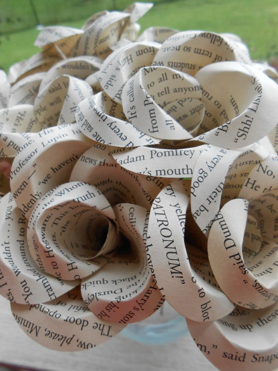 Tea Stained BOOK Dozen Roses. Perfect for First Anniversary, Weddings, Birthdays. Unique Gift. CUSTOM Orders Welcome
