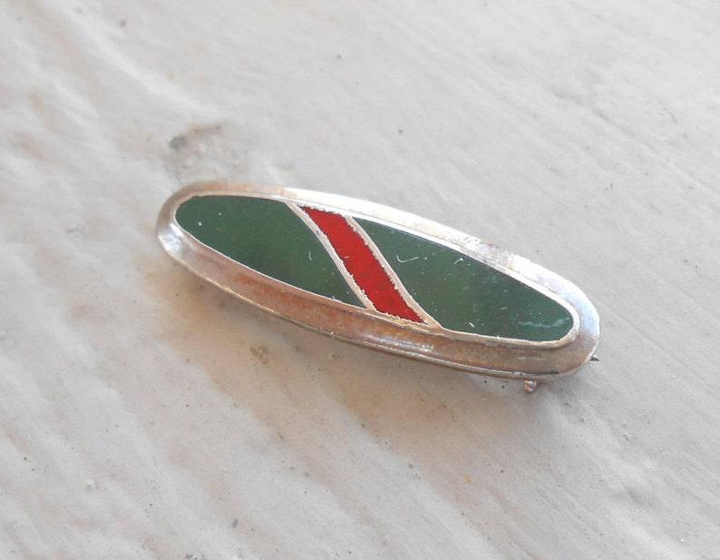 Enamel Men/'s Wedding Vintage Red /& Green Pin Christmas Groomsmen Gift Unique. Dad.