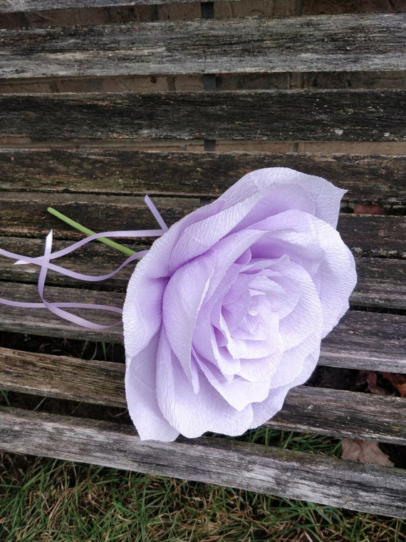 Crepe Paper Wands. Flower Girl. CHOOSE YOUR COLORS. Bridesmaid Flower. Custom Orders Welcome.