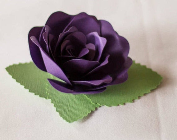 50 Paper ROSE Favors. Wedding Decoration. Your CHOICE Of Colors.  Any Color & Amount Available. Special Orders Welcome.
