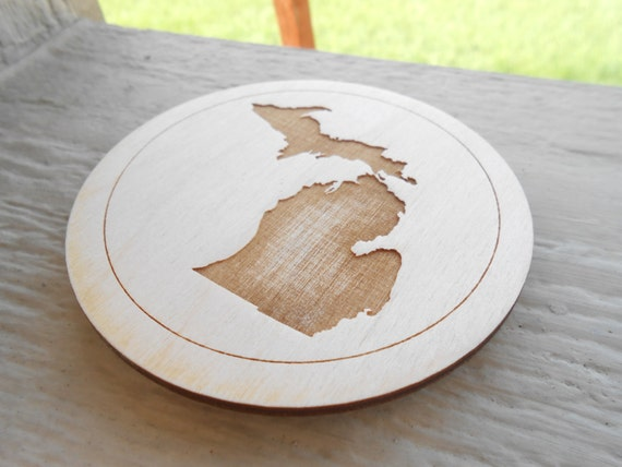 CHOOSE YOUR STATE Magnet. Laser Engraved. Gift, Mom, Dad, Wedding, Home Decor, Unique Christmas Holiday Gift. Michigan.