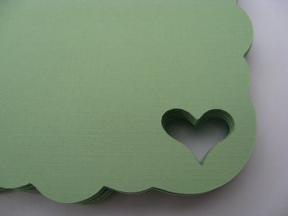 50 Heart Tags. 4 inch. CHOOSE YOUR COLORS.  Weddings, Favor, Place Cards, Escort, Table