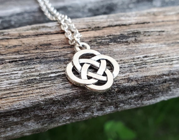 Celtic Knot Necklace. Gift For Mom, Wedding, Bridesmaids, Kids, Anniversary, Birthday, Christmas.