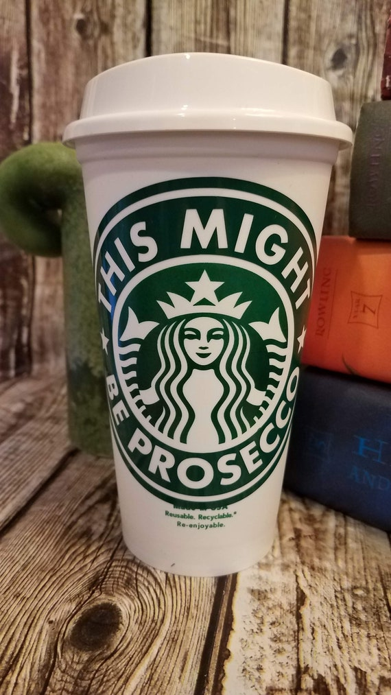 Personalized Starbucks Cup This Might Be Whiskey Reusable Travel Starbucks Cup 16 ozGrande