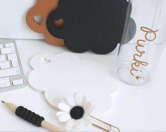 Cloud Coaster, Coaster, Mat, Heart, Drinks, Desk Top Mat, Office Decor, Room Decor