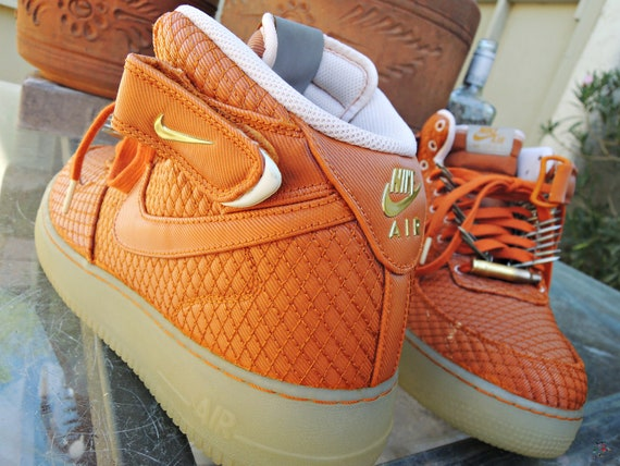 Just Do It Nike Shoes Orange minimalist interior design
