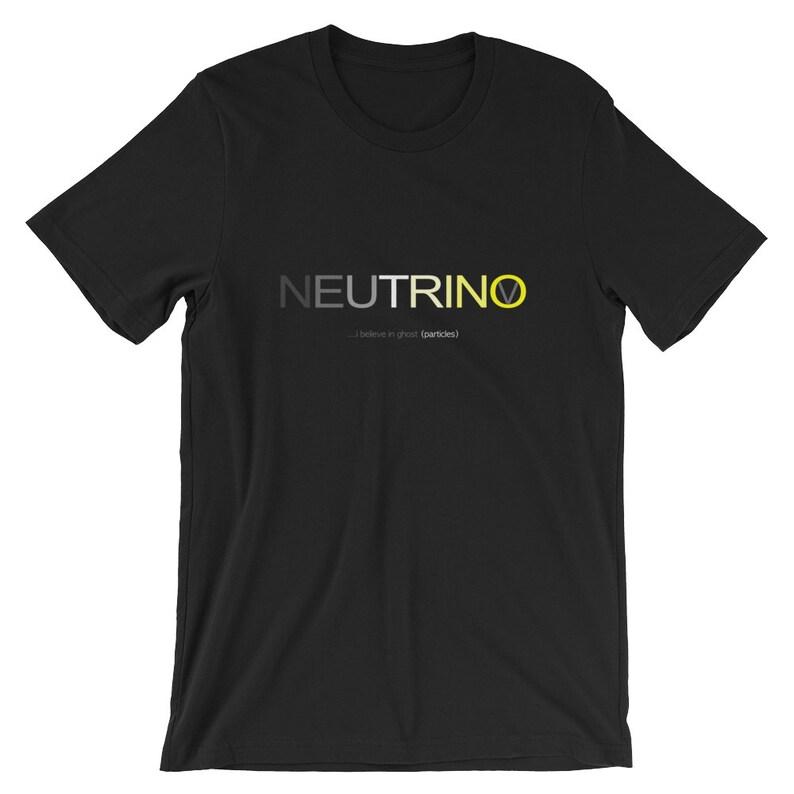Neutrino Particle Physics T-Shirt image 0