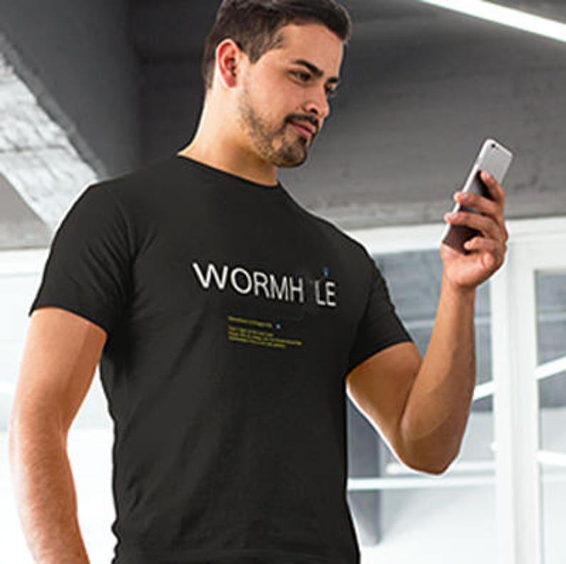 Wormhole  Astrophysics T-Shirt image 0