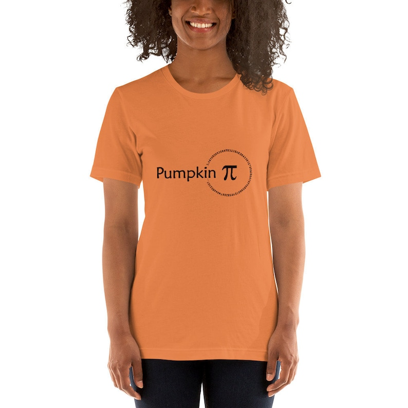 Pumpkin Pi  Math T-Shirt image 0