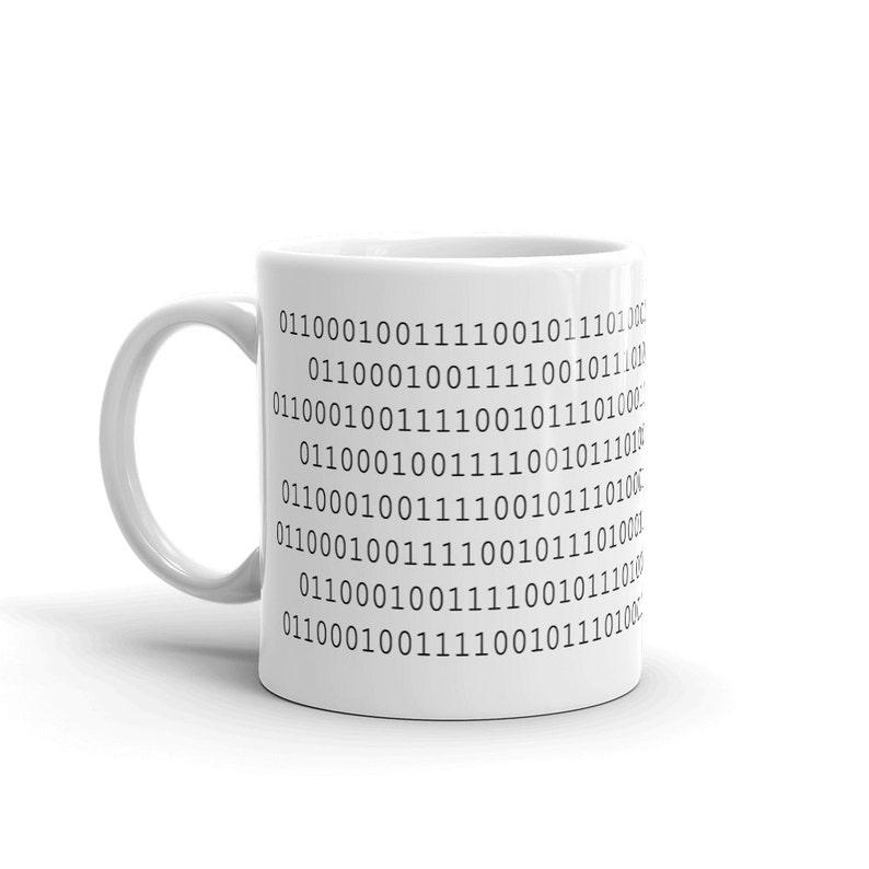 Binary Code  Byte me  Mug image 0