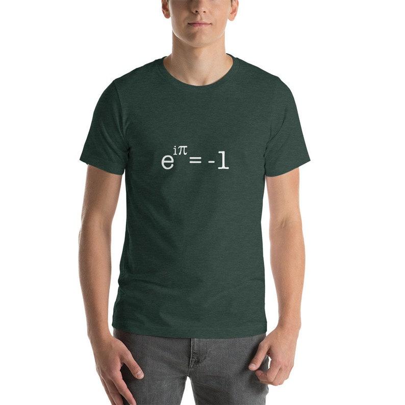 Euler's Identity Formula T-Shirt eipi1 image 0