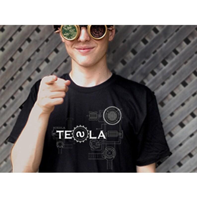 Nikola Tesla T-Shirt image 0