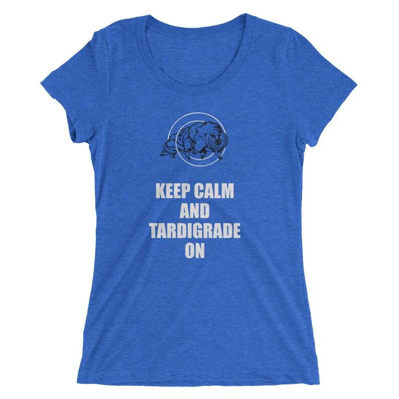 Tardigrade Water Bear T-Shirt  Women's Slim Fit image 0