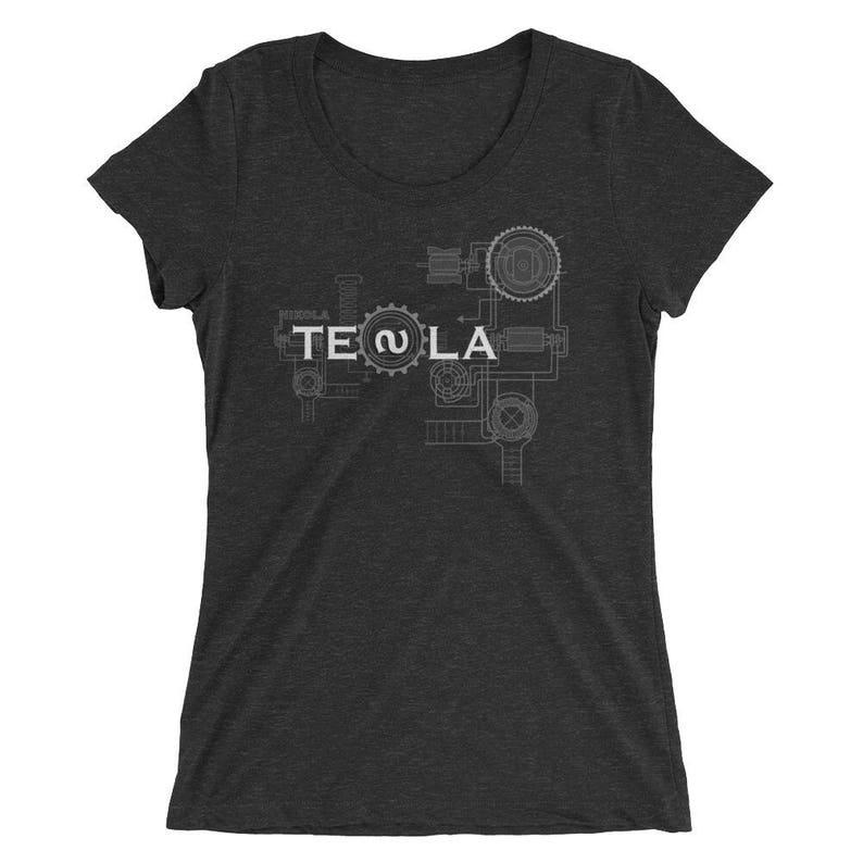 Nikola Tesla T-Shirt  Women's Slim Fit image 0