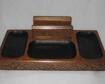 Neat Vintage SWANK Japan Dresser Tray