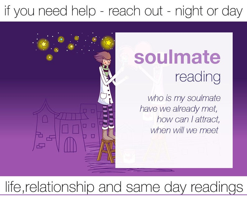 SOULMATE READING - any question - intuitive medium- experienced  professional psychic - email pdf