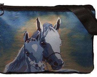 Horses Large Messenger Bag by Salvador Kitti - On Sale - Perfect for Horse Lovers