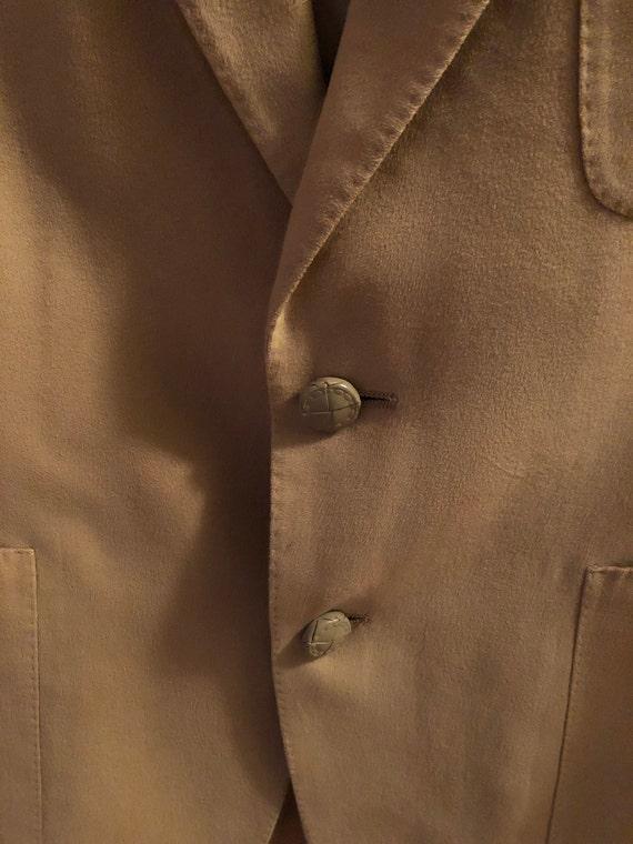 1970s men's Lanvin Feather Suede sport coat - image 7