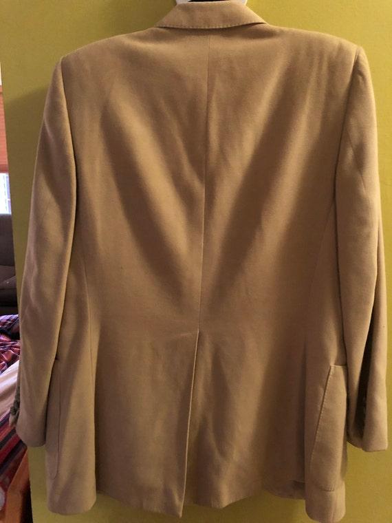 1970s men's Lanvin Feather Suede sport coat - image 8