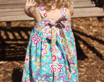 Instant Download- The Lindsay Reverse Knot Dress Pattern E-Book