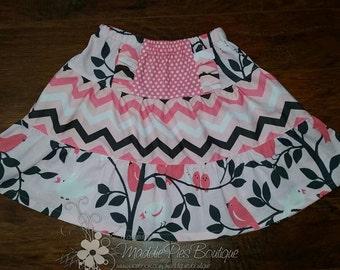 Adorable side ruffle skirt (custom)