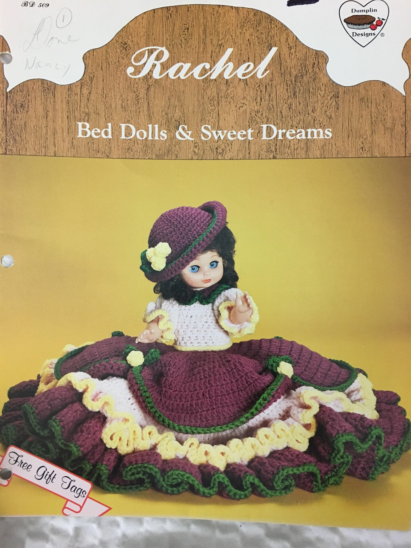 Crochet Pattern Bed Doll Rachel Dumpling Designs Etsy