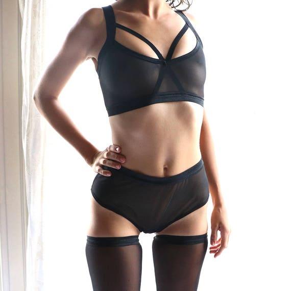 b4f0c1cfc BDSM Lingerie Lingerie Set Sheer Underwear Bralettes