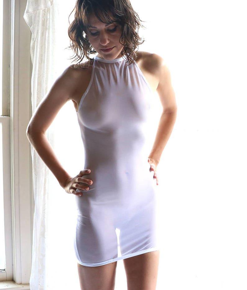f782ec49c3f Mesh Dress See Through Lingerie Sheer Dress See Through