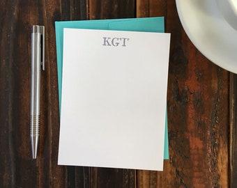 Custom Letterpress Notecards - Lexington
