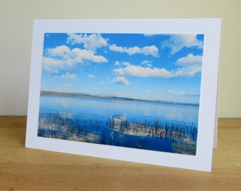Clouds and Lake Champlain - Daydreams and Reflections - Inspirational / Birthday / Sympathy / Just Because Greeting Card