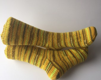 Knitted socks size 4-6