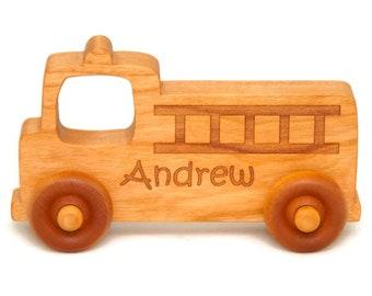 Eco-friendly Baby shower gift Organic Kids toy Toddler gift Wooden push toy car Handmade natural Kids birthday gift UK