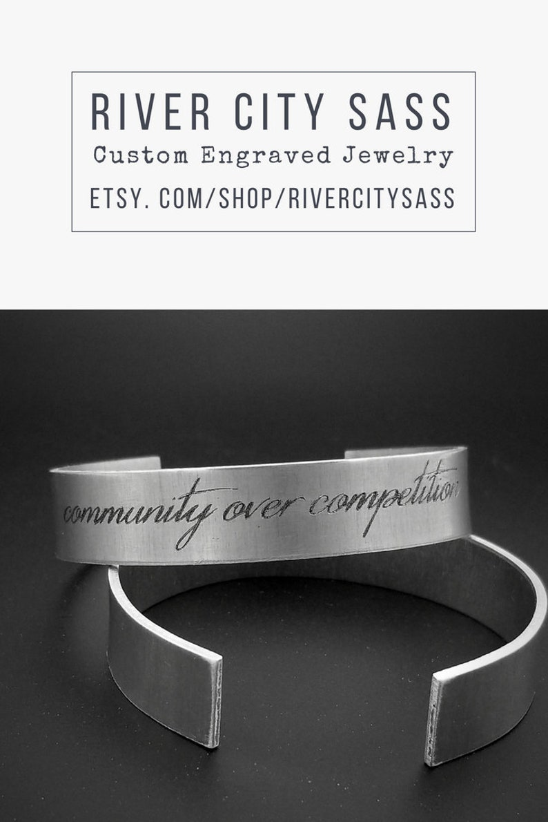 ffe554066ae6e Long Distance Gift/ Engraved Metal Bracelet/ Quote Bracelet/ Message  Bracelet/ Mantra Bracelet/ Waterproof bracelet/ Mens Cuff Bracelet