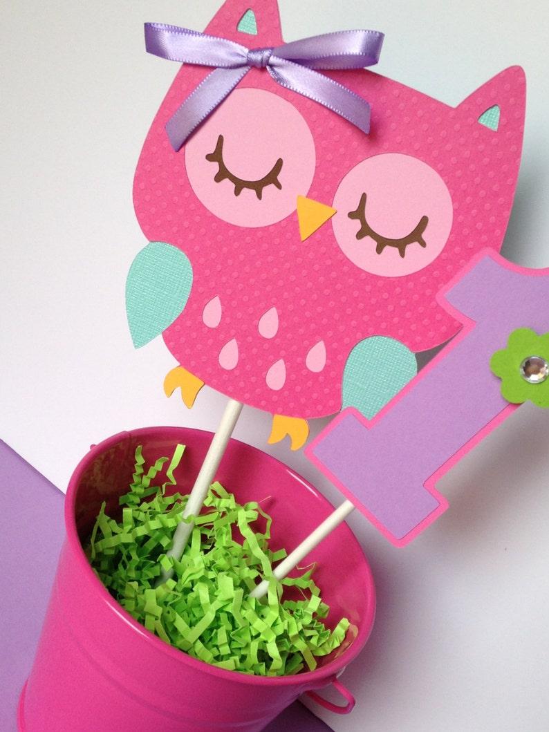 Enjoyable Owl Cake Topper Owl Smash Cake Topper Owl Birthday Party In Etsy Funny Birthday Cards Online Hendilapandamsfinfo
