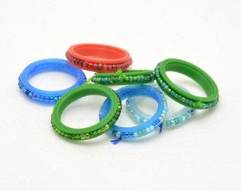 Beaded Spinner / Fidget rings
