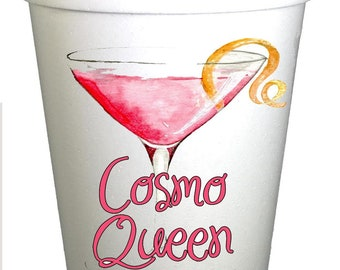 Cosmo Queen Funny Drinking Cups