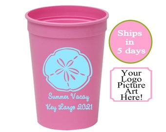 One Color Personalized Custom 16oz Stadium Cup|Stadium Cups for 4th of July| Personalized Wedding Party Cups| Personalized Birthday Cups|