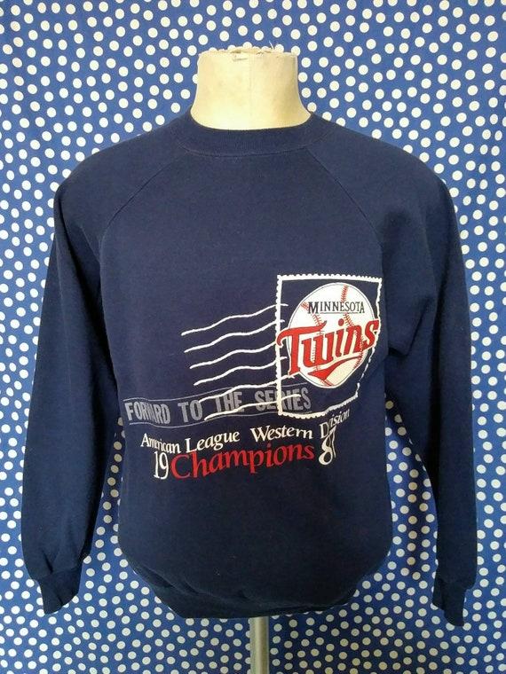 meet e1a3b bde02 1987 MN Twins sweatshirt, slim medium