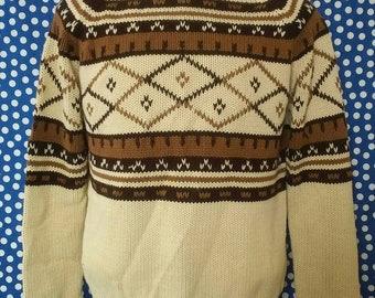 1970's turtleneck sweater, fits like a medium
