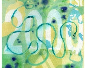 Custom painting .  Personalized gift . Custom watercolor painting . Art commission watercolor . Personalized Anniversary gift