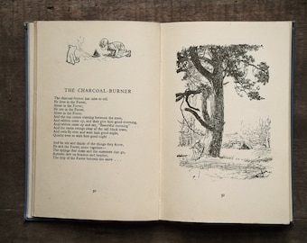 MARKED vintage Winnie the Pooh book illustrated by E. H. Shepard Now We Are Six by A. A. Milne, 1930s British edition