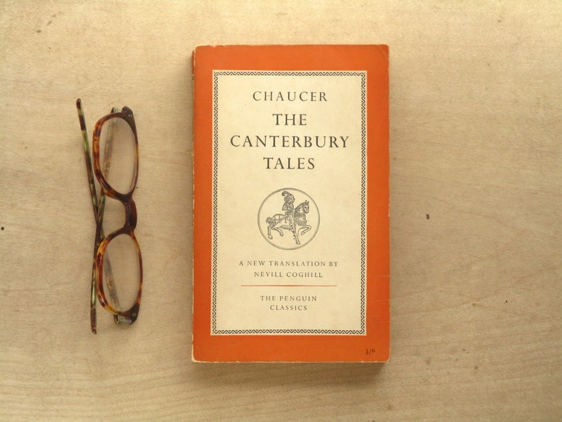Penguin Classic The Canterbury Tales Chaucer penguin book image 0