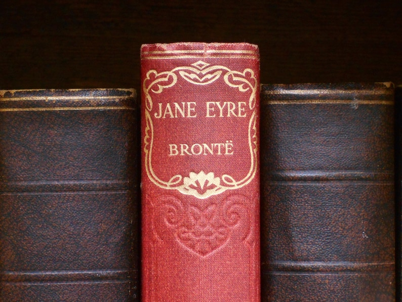Jane Eyre book by Charlotte Bronte image 1