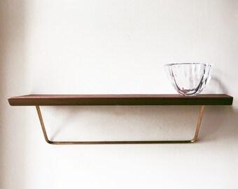 NEW Classic shelf - modern classic shelving unit.